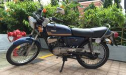 classic yamaha RX-K Excellent condition 9.5 years COE