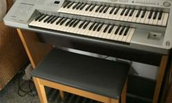 Electone is in almost new condition. It has been