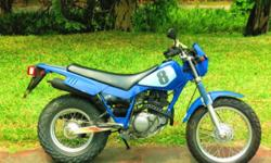 Very clean, original and ultra reliable Yamaha TW200