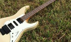 Used guitar. Neck, body + OEM floating bridge. Some