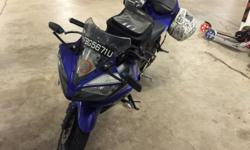 Bike is YZF-R15 V2 and it is in good condition. No