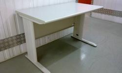 two study tables set ,steel frame ,durable L120*W70cm