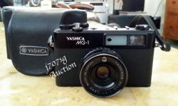 Yashica MG-1 35mm Rangefinder Film Camera with case ,