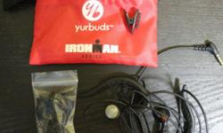 selling new yurbuds ironman in-ear sports headphones