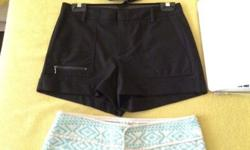 selling my 3 zara shorts 2 brand new 1 preloved worn